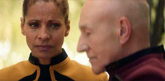 Raffi judging Picard.